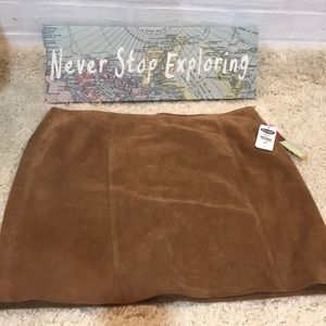 NWT Genuine leather Old Navy skirt